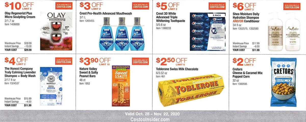 Costco November 2020 Coupon Book Page 12