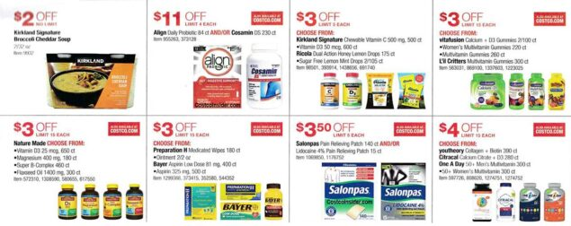 Costco November 2020 Coupon Book Page 17