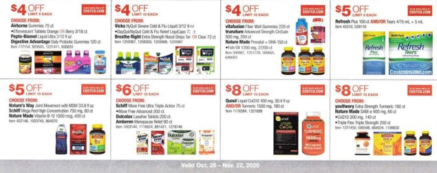 Costco November 2020 Coupon Book Page 18