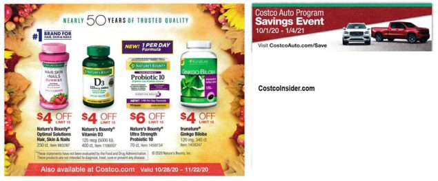 Costco November 2020 Coupon Book Page 21