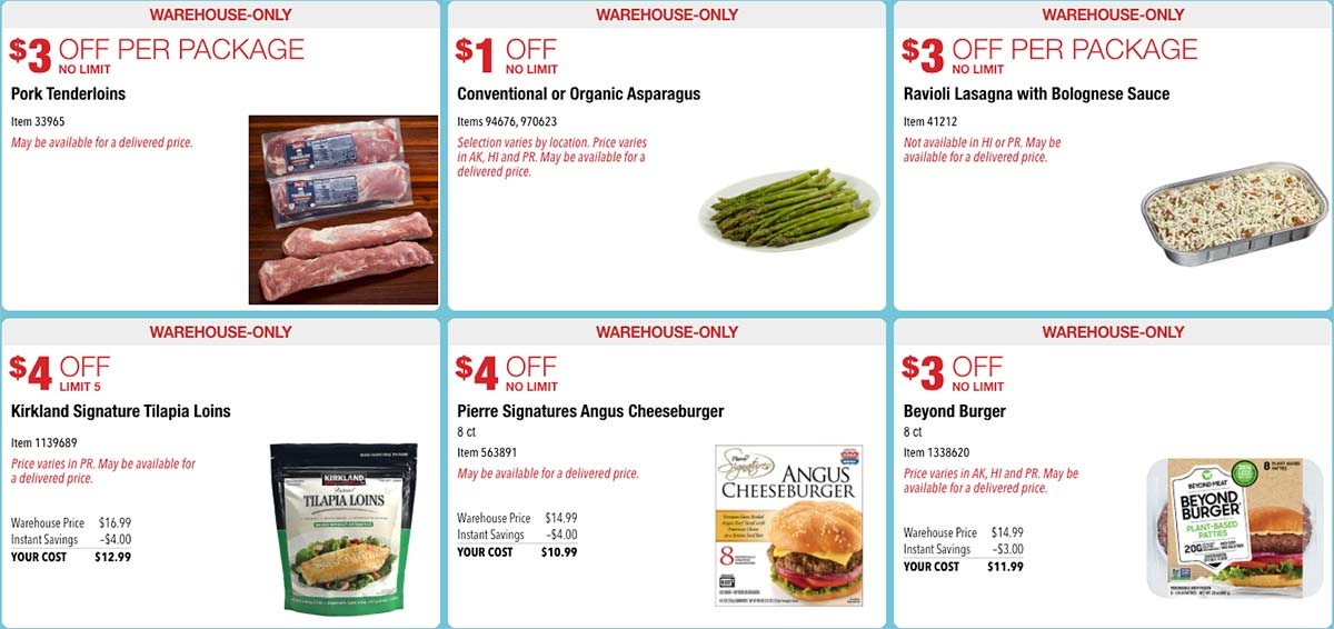 October 2020 Hot Buys Coupons Page 1
