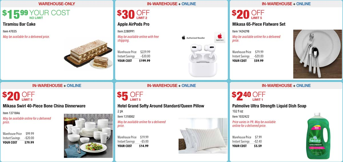 October 2020 Hot Buys Coupons Page 2