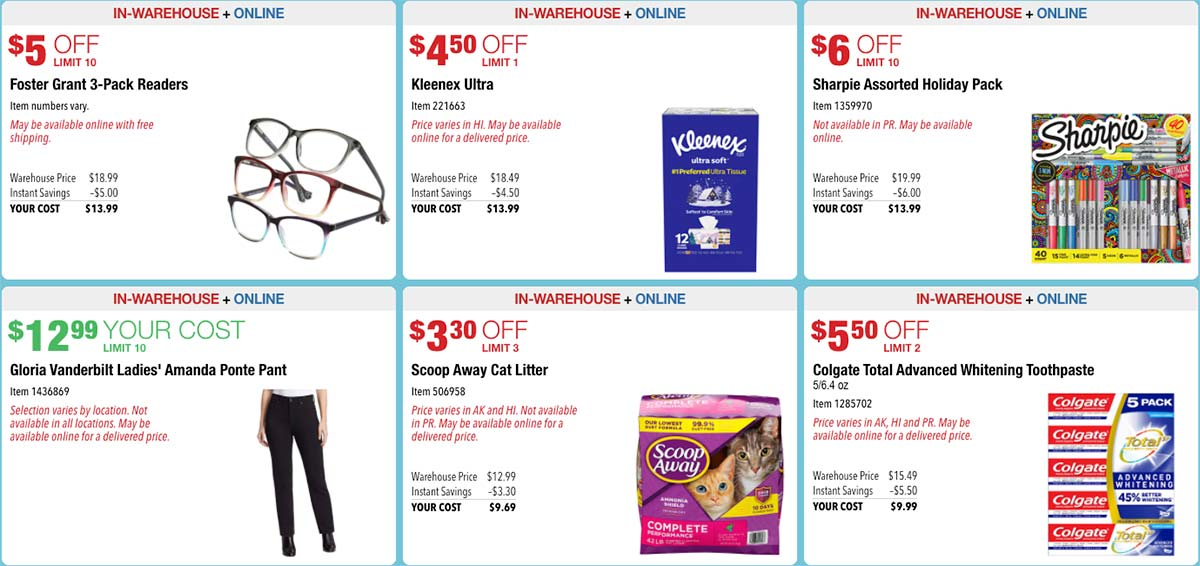 October 2020 Hot Buys Coupons Page 3