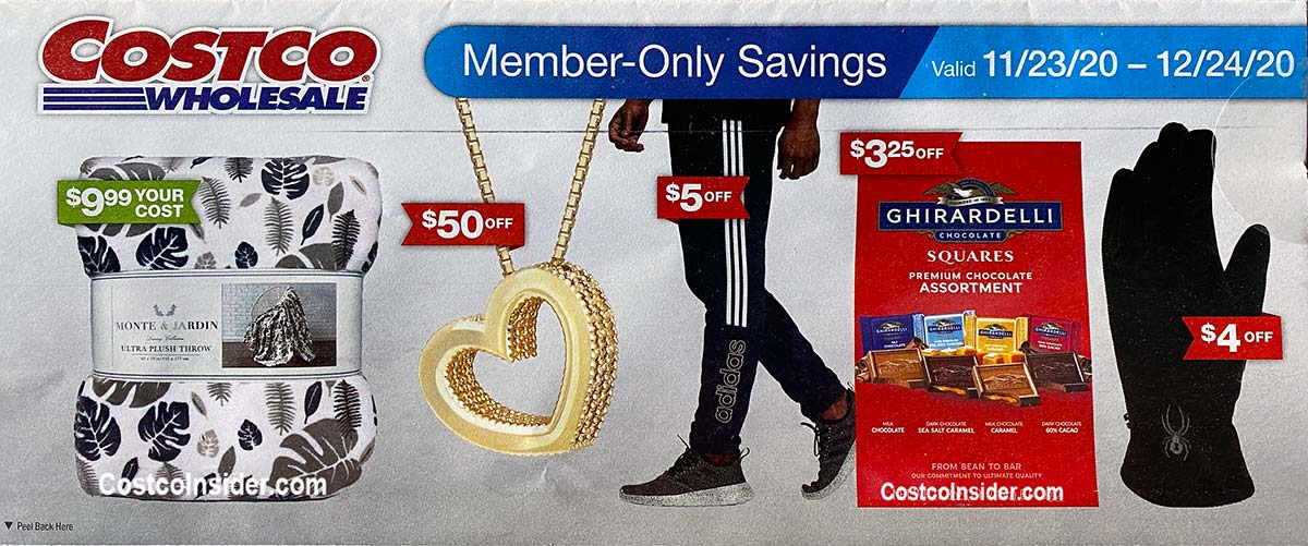 Costco December 2020 Coupon Book Cover