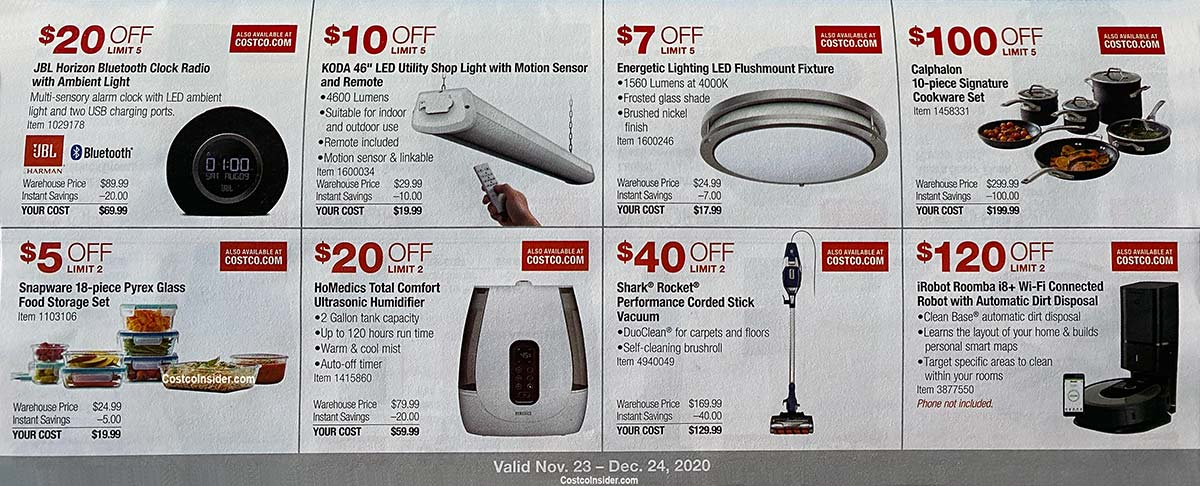 Costco December 2020 Coupon Book Page 10