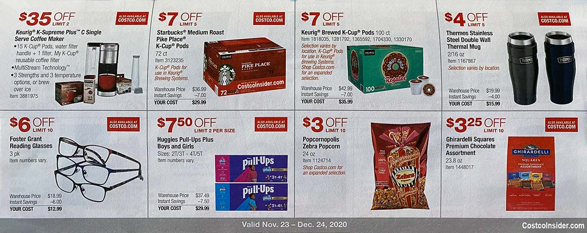 Costco December 2020 Coupon Book Page 12