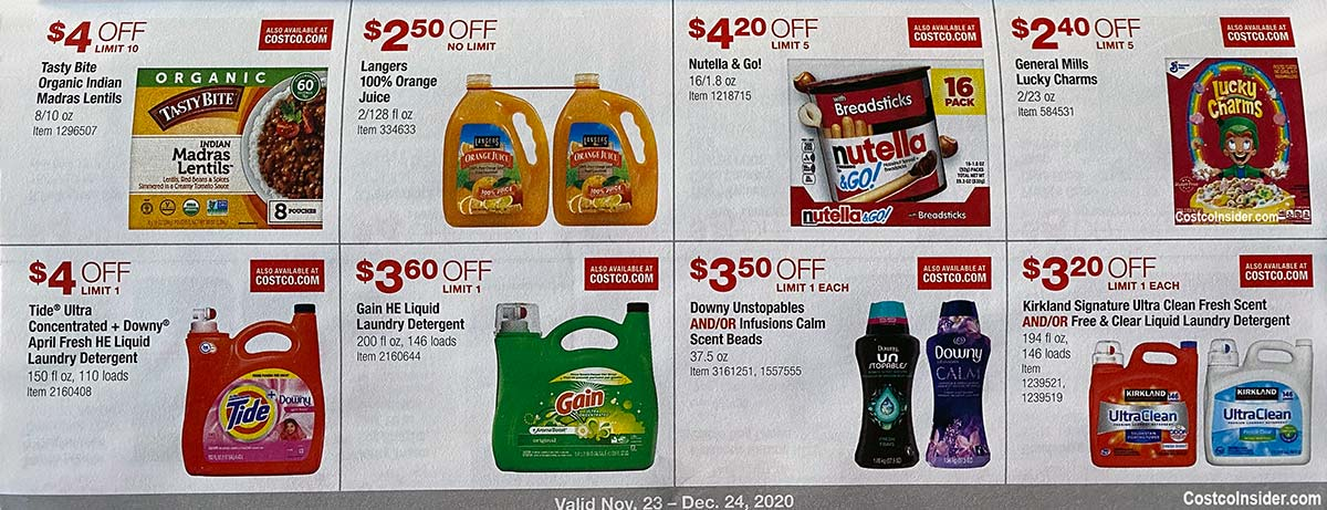 Costco December 2020 Coupon Book Page 14