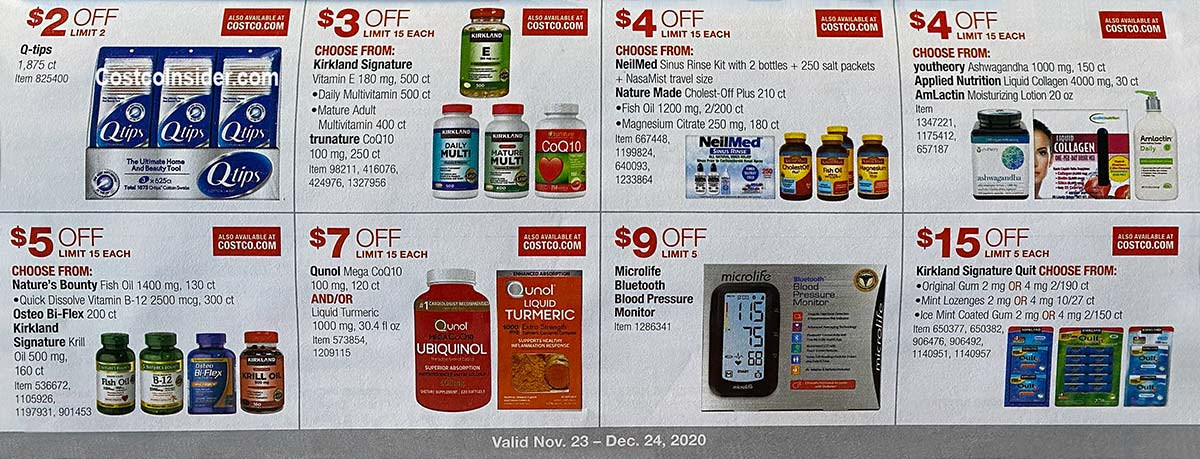 Costco December 2020 Coupon Book Page 16