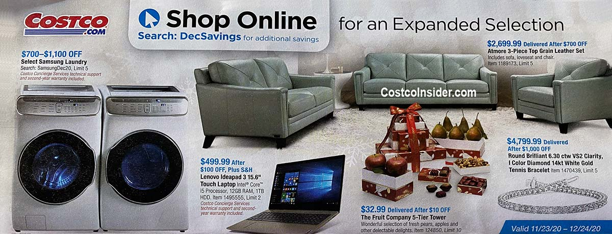 Costco December 2020 Coupon Book Page 17