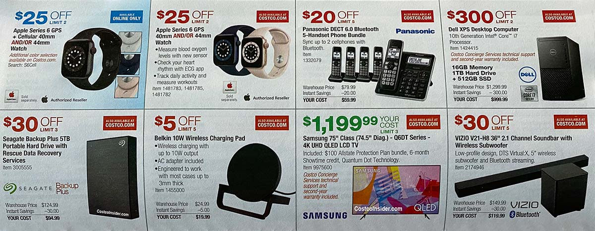 Costco December 2020 Coupon Book Page 9