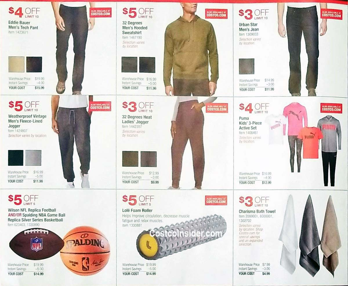 Costco Holiday Handout 2020 Coupons Page 2