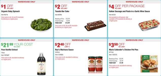 Costco November 2020 Hot Buys Coupons Page 1