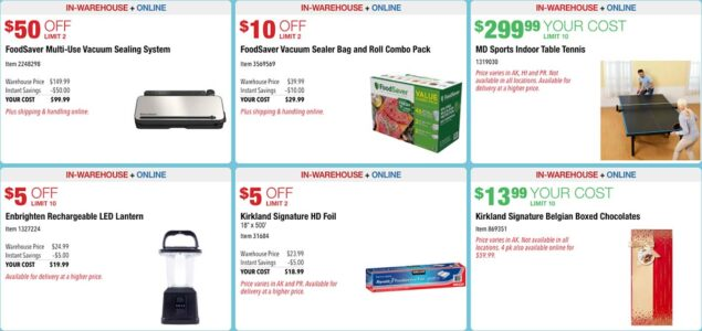 Costco November 2020 Hot Buys Coupons Page 3