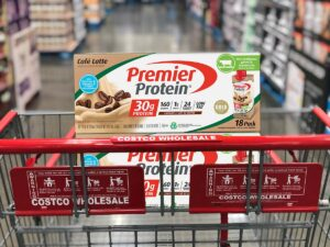 Premier Protein Cafe Latte in Cart