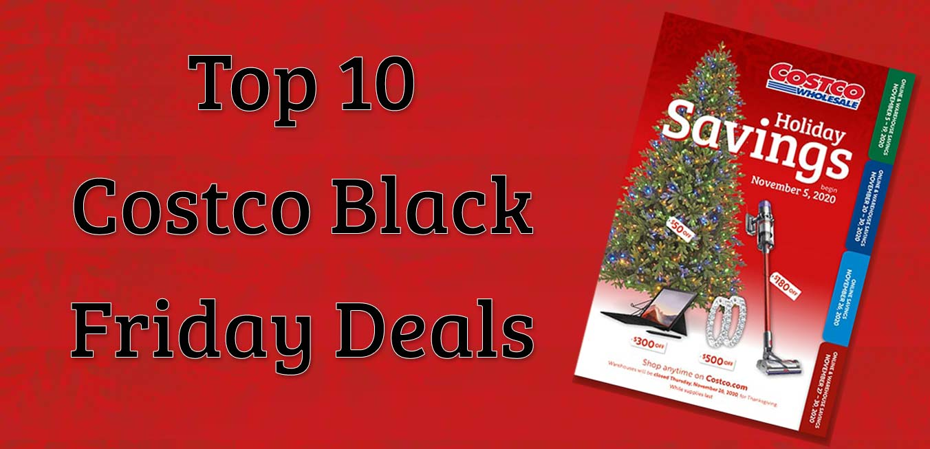 Top 10 Costco Black Friday Deals