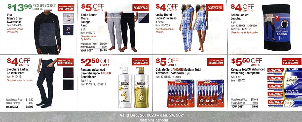 Costco January 2021 Coupon Book Page 12
