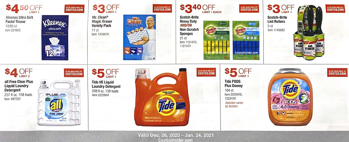 Costco January 2021 Coupon Book Page 16
