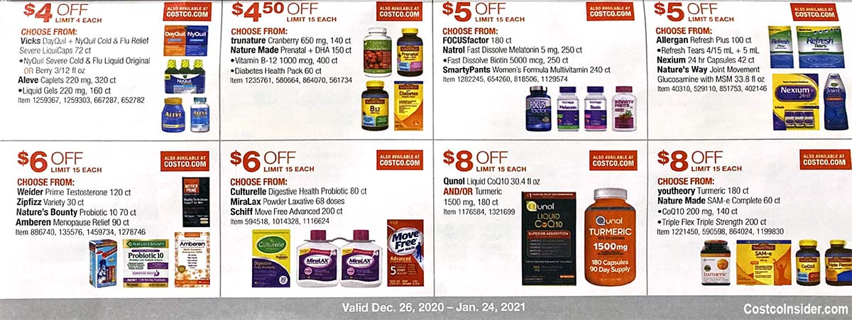 Costco January 2021 Coupon Book Page 20