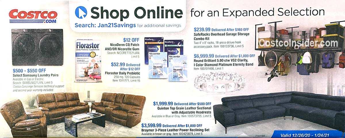 Costco January 2021 Coupon Book Page 21