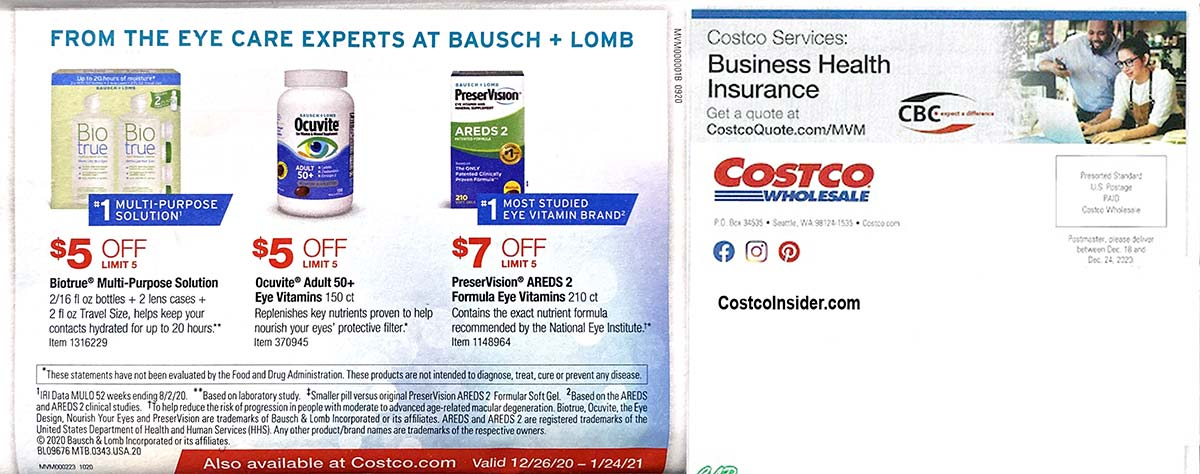 Costco January 2021 Coupon Book Page 23