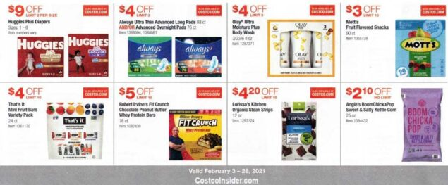 Costco February 2021 Coupon Book Page 10