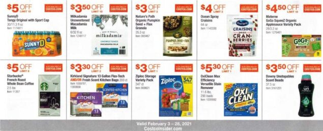 Costco February 2021 Coupon Book Page 12
