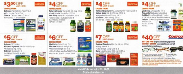 Costco February 2021 Coupon Book Page 16