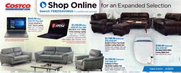 Costco February 2021 Coupon Book Page 17