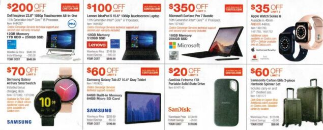 Costco February 2021 Coupon Book Page 7
