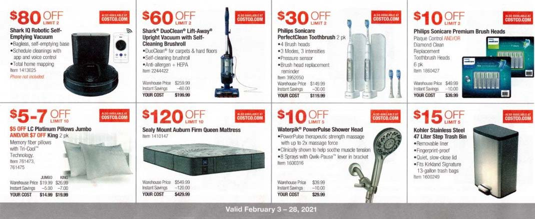 Costco February 2021 Coupon Book Page 8