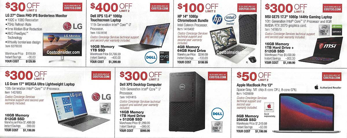 Costco March 2021 Coupon Book Page 11