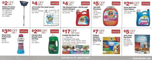 Costco March 2021 Coupon Book Page 16