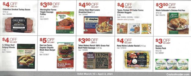 Costco March 2021 Coupon Book Page 18