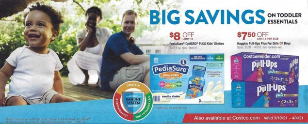 Costco March 2021 Coupon Book Page 7