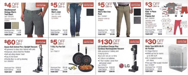 Costco March 2021 Coupon Book Page 9