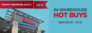Costco March 2021 Hot Buys Coupons