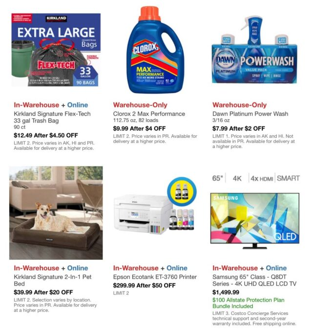 Costco March 2021 Hot Buys Coupons Page 5