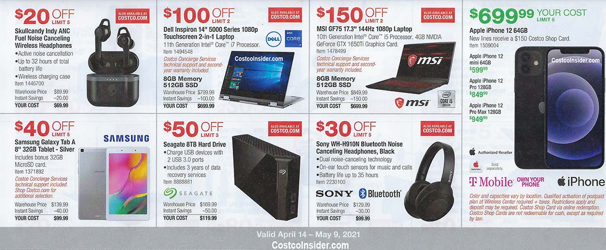 Costco April 2021 Coupon Book Page 11