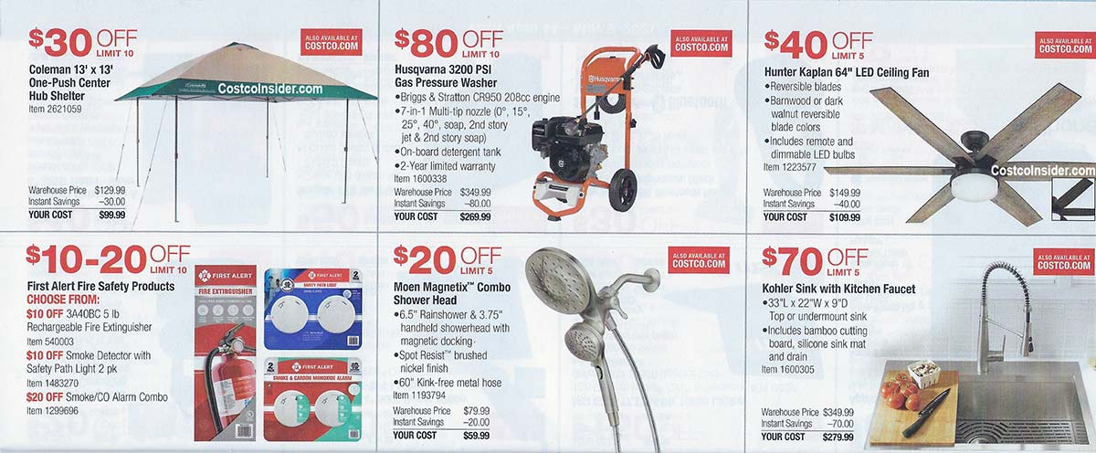 Costco April 2021 Coupon Book Page 12
