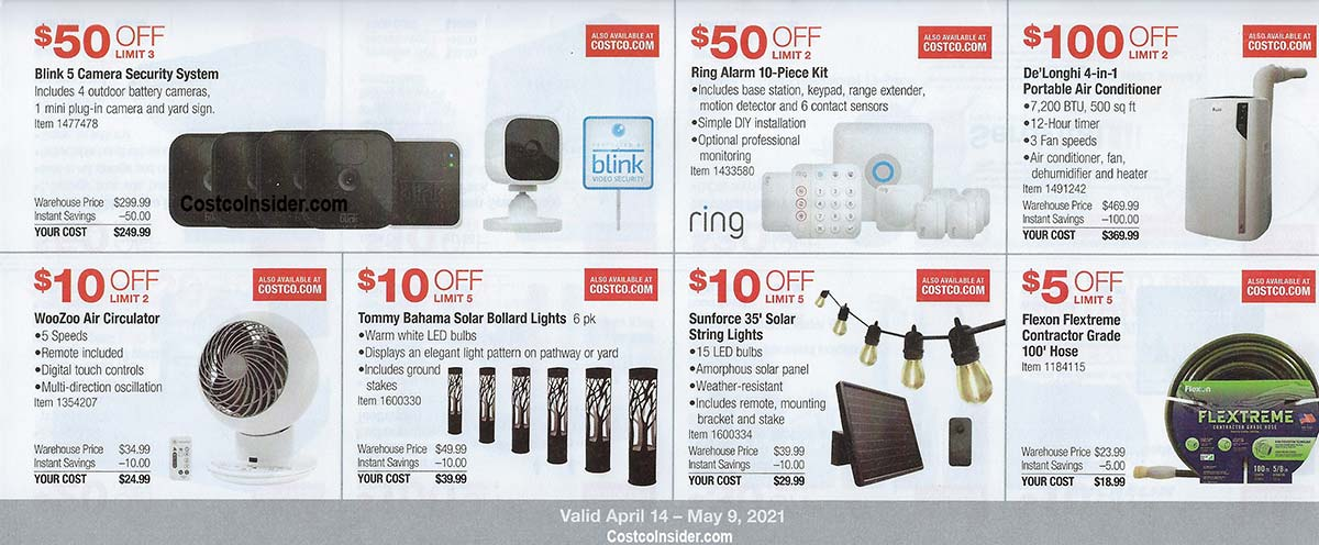Costco April 2021 Coupon Book Page 13