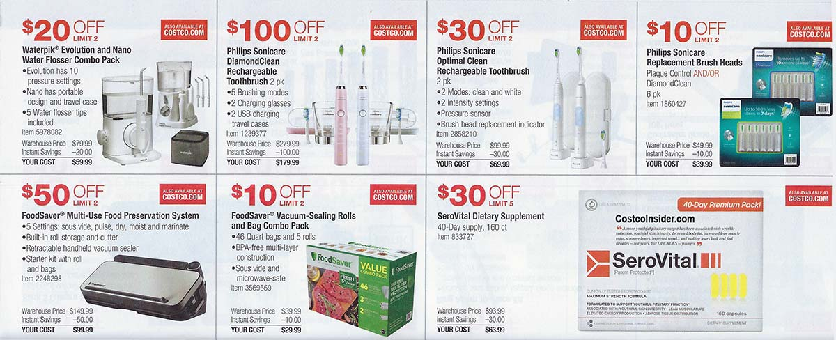 Costco April 2021 Coupon Book Page 14
