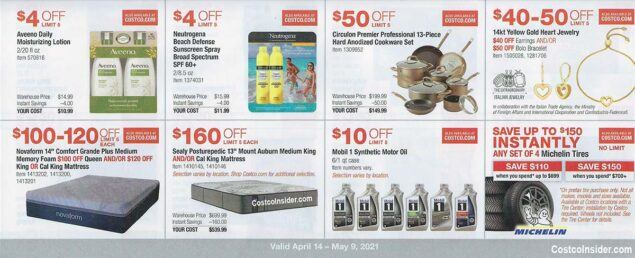 Costco April 2021 Coupon Book Page 15