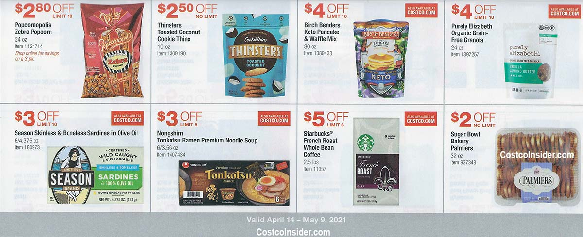 Costco April 2021 Coupon Book Page 17