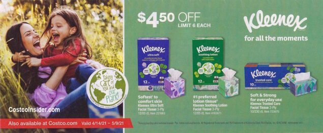 Costco April 2021 Coupon Book Page 2