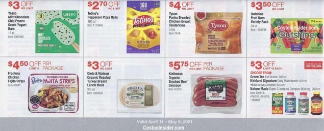 Costco April 2021 Coupon Book Page 21