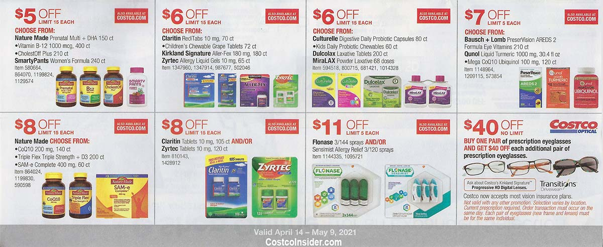 Costco April 2021 Coupon Book Page 23