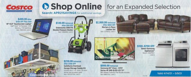 Costco April 2021 Coupon Book Page 24