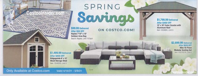 Costco April 2021 Coupon Book Page 25