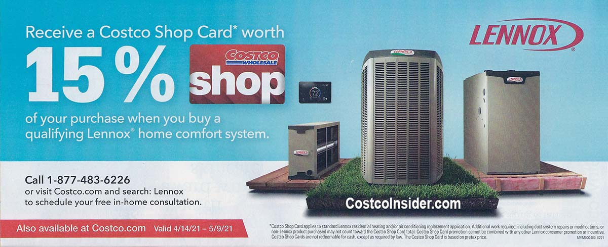 Costco April 2021 Coupon Book Page 5