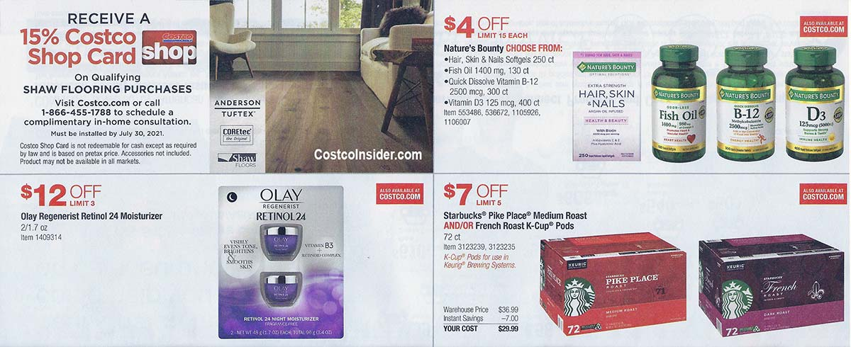Costco April 2021 Coupon Book Page 8